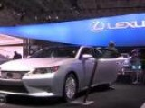 2013 Lexus ES At The 2012 New York Auto Show