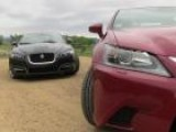 2013 Lexus GS350 Vs Jaguar XF Mashup Review