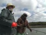 Red Fish And Bluetail Fishing In Mosquito Lagoon