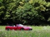 2012 Maserati GranCabrio Sport Driving Scenes