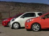 2013 Ford Fiesta Vs Toyota Prius C Vs Scion IQ Mashup Review