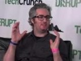 Bre Pettis Of Makerbot Backstage At Disrupt