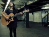Kina Grannis Performing Valentine At The West 4th Street Subway Station