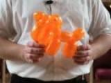 How To Make A Balloon Tiger