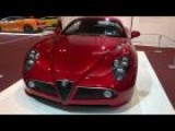 Alfa Romeo 8C Competizione At The Madrid Auto Show 2012