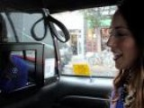 A Ride In Square Cab, A NYC Taxi With An IPad