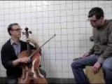 Ben Sollee Performing Hurting At The Fulton Ave G Station