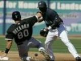 Baseball Coaching With Chicago White Sox Gordon Beckham