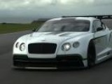 Bentley Continental GT3 Revealed In Paris