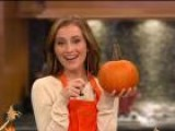 Candace Bailey Carves Pumpkins For Halloween