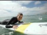 Candace Bailey Rides The WaveJet Surfboard