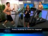 Calorie Burning Test: Power Walking Vs. Jogging