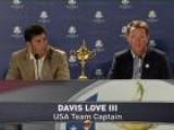 Davis Love III Discuss 2012 Ryder Cup
