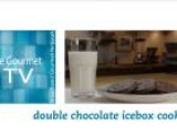 Double Chocolate Icebox Cookies Recipe