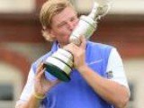 Ernie Els Wins The Open Championship