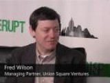Fred Wilson Backstage At Disrupt