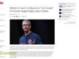 Former Apple Employee Dishes On CEO Tim Cook