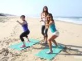 Get A Total Beach-Babe Workout With The Tone It Up Girls