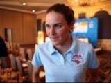 Gwen Jorgenson Interview Before The 2012 ITU Race