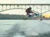 Harley Clifford Winning Run At Knoxville Pro Wakeboard Tour
