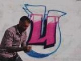 How To Draw The Graffiti Letter U