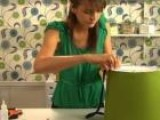 How To Re-Cover A Lampshade