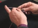 How To Hold Crochet Yarn