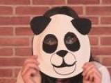 How To Make A Panda Mask