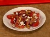 How To Make A Summer Tomato-Peach And Corn Salad