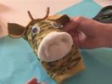 How To Create A Giraffe Sock Puppet