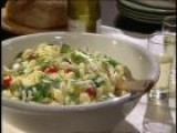 How To Make A Cold Pasta And Corn Salad