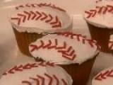 How To Make Grand Slam Baseball Cupcakes