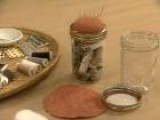 How To Create A Mending Kit From A Mason Jar
