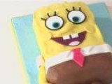 How To Decorate A SpongeBob SquarePants Cake