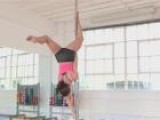 How To Do The Inverted Butterfly Pole Dance Move