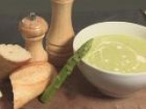 How To Cook A Soup Of Creamed Asparagus