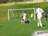 H.S. Player Brutally Kneed In Face During Girls Soccer Match