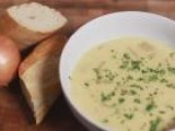 How To Make A Rustic Soup With Potatoes And Onions