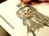 How To Draw The Dark Knight