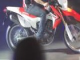 Honda CRF450R Rally Launch At EICMA 2012