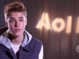Justin Bieber Talks To AOL Music About &#39 Believe&#39