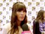 Jessica Biel&#39 S White Outfit At Comic-Con 2012