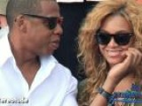 Jay-Z Playfully Spanks Beyonce During Surprise Performance