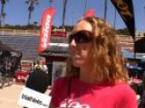 Kelly Williamson Before The 2011 Oceanside 70.3