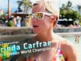 Kona Training Log: Mirinda Carfrae 2K Swim