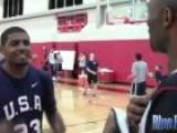 Kyrie Irving Challenges Kobe Bryant