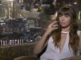 Kate Beckinsale And Jessica Biel On Their Characters In Total Recall 2012