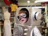 Kids Halloween Robot Costume