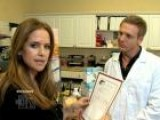Kelly Preston Tours An Organic Food Lab