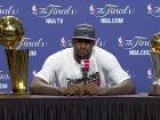 LeBron James Addresses Cleveland Sort Of After Winning